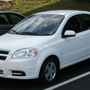 Стекло лобовое для Chevrolet Aveo I, II (2002-2008)