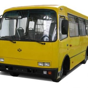 Стекло лобовое для автобусов Богдан А 091