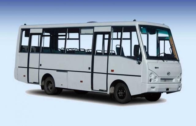 Стекло лобовое для автобусов I-VAN А 07
