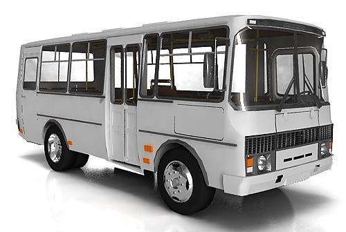 Стекло лобовое для автобусов ПАЗ 3205