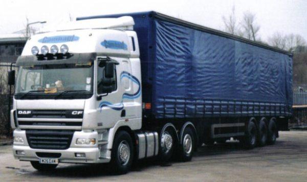 Стекло лобовое для грузовика Daf CF65/75/85