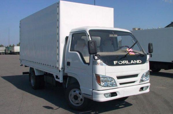 Стекло лобовое для грузовика Foton BJ 1039, 1043, 1049