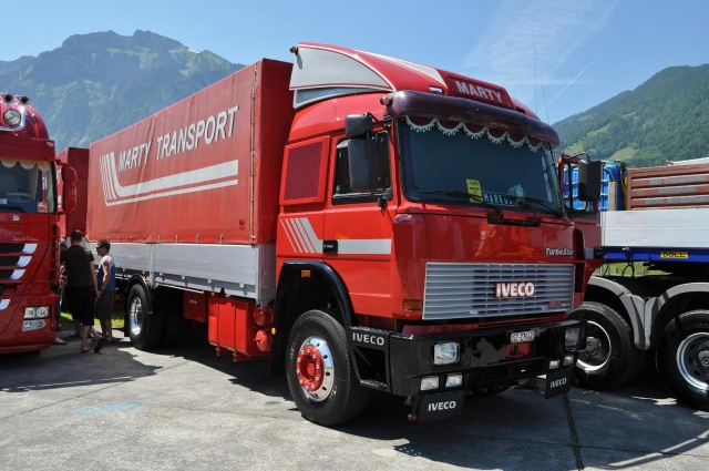 Стекло лобовое для грузовика Iveco Turbostar Super