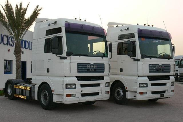 Стекло лобовое для грузовика Man TGA XXL