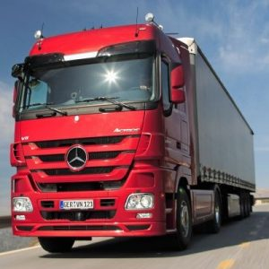 Стекло лобовое для грузовика Merсedes Actros