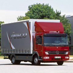 Стекло лобовое для грузовика Merсedes Atego, Axor