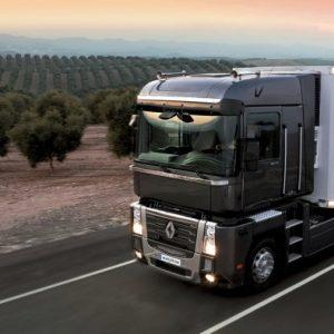 Стекло лобовое для грузовика Renault Magnum