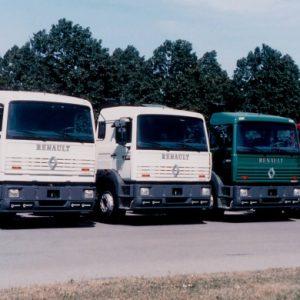 Стекло лобовое для грузовика Renault Manager