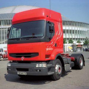Стекло лобовое для грузовика Renault Premium