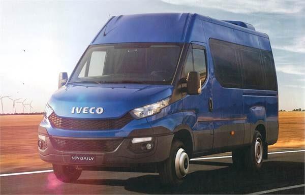 Стекло лобовое для микроавтобусов Iveco Daily