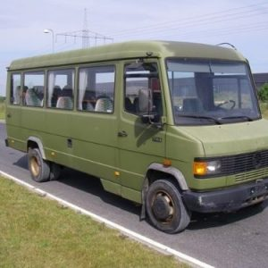 Стекло лобовое для микроавтобусов Mercedes 711