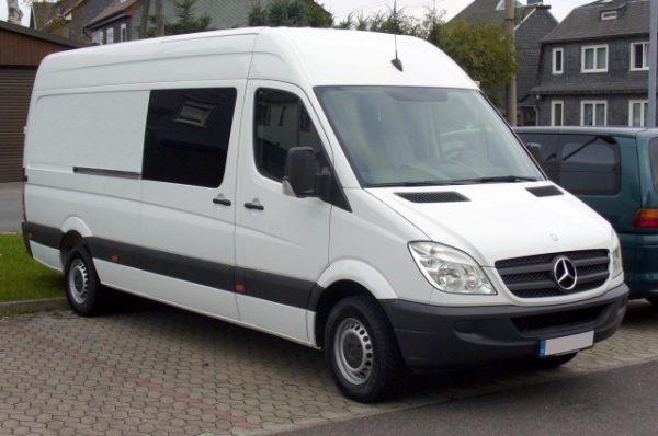 Стекло лобовое для микроавтобусов Mercedes Sprinter (2006)