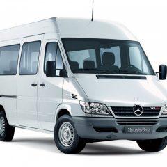 Стекло лобовое для микроавтобусов Mercedes Sprinter