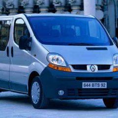 Стекло лобовое для микроавтобусов Renault Trafic (2002)