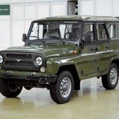 Стекло лобовое для микроавтобусов УАЗ 469 (цельный)