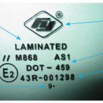 Пример маркировки Laminated